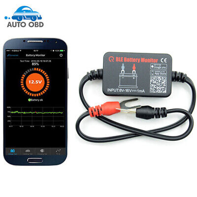 BM2 12V Battery Analyzer Electric Circuit Cranking Tester for Android iOS
