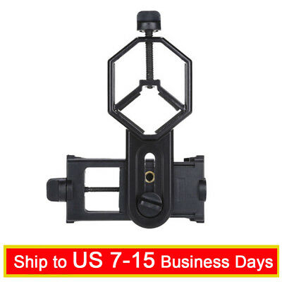 Cellphone Telescope Adapter Mount For Binocular Monocular Spotting Microscope PR