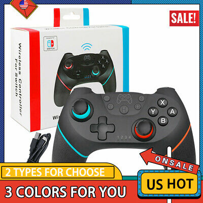 Bluetooth Wireless Gamepad Joystick Pro Controller for Nintendo Switch US