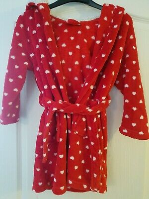 Girls Dressing Gown Age 5-6 From Next