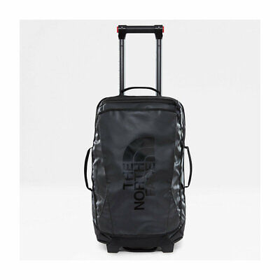 The North Face Rolling Thunder 22'' Tnf Black New Duffle Bag Suitcase Trolley