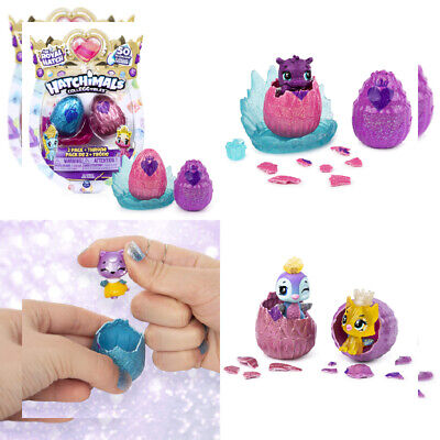 HATCHIMALS 6047181 CollEGGtibles, Season 6 Royal 2-pack with Throne and 2...