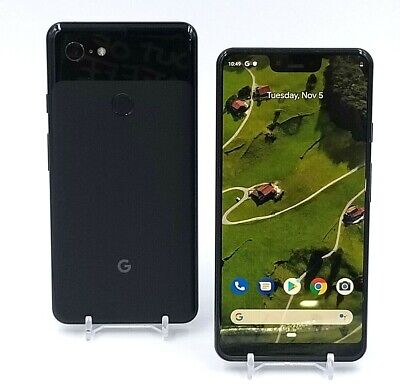 Google Pixel 3 XL - 64GB - Unlocked - Just Black / Not Pink / White- Refurbished