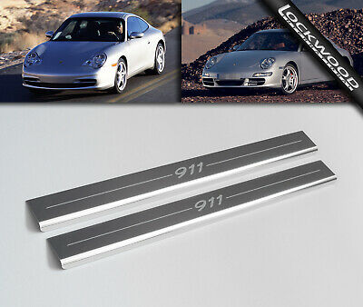 Porsche 911 (996 & 997) Stainless Sill Protectors / Kick Plates