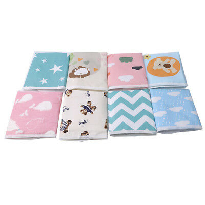 Reusable Washable Baby Cloth Nappy Nappies Diaper Waterproof Surface Insert LE