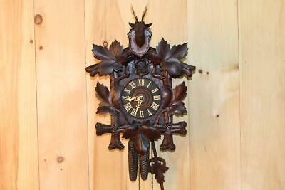 Antique German Black Forest Cuckoo Clock ~ Circa 1910's ~