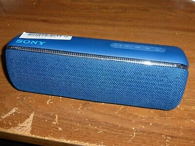"""Sony SRS-XB32 Portable Wireless Bluetooth Speaker(Blue) for Parts/Repair """"AS-IS"""