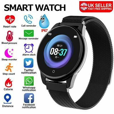 Smart Watch Fitness Tracker Step Counter Pedometer Calorie Heart Rate Sport Gift