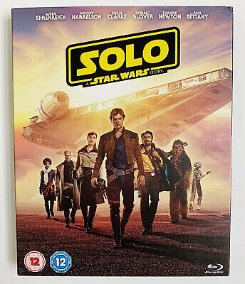 New Solo A Star Wars Story Blu-Ray DVD