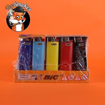 BIC Classic Maxi Lighter, Assorted Colors, 50-Count Tray J26 Disposable