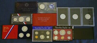 United States Bicentennial, Proof Coin & Proof Set Variety Lot - Free Ship US