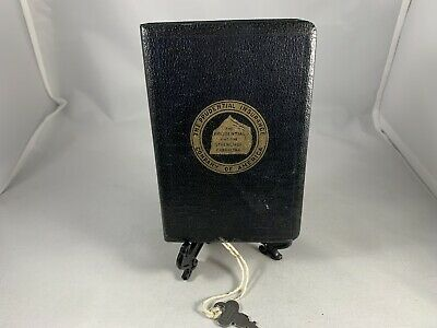 Vintage The Prudential Insurance Company Of America  Book Bank With Key L@@K!