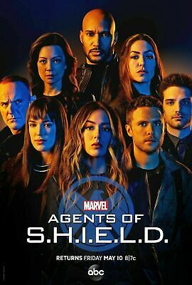 Agents of S.H.I.E.L.D.Season 6 SIX (DVD,3-Disc) Marvel's Agents of SHIELD NEW!!!