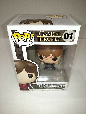 Funko Game Of Thrones #01 Tyrion Lannister Brand New In Protector