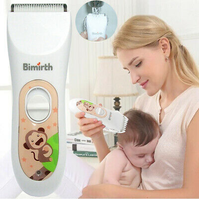 Hair Clipper Cordless Electric Pet Grooming Baby Ceramic Blade Safe