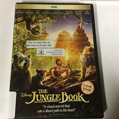 Disney THE JUNGLE BOOK with Bill Murray - Ben Kingsley DVD