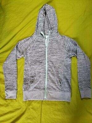 90 Degree By Reflex Girls Large 12 Long Sleeve Athletic jacket Hooded Pockets
