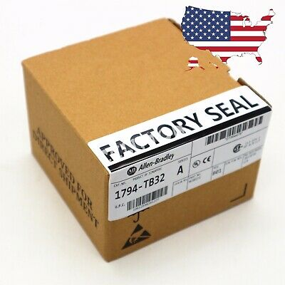 New Allen Bradley Flex 8 Point Analog Input Module 1794-TB32 SER A Factory Seal
