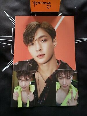 Official Exo-l 엑소 kpop Ace Welcome Kit A4 Poster +Photocard Set Yixing/Lay Zhang