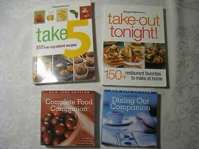 Weight Watchers 2009 Complete Food Dining Out Companion Points Cookbooks
