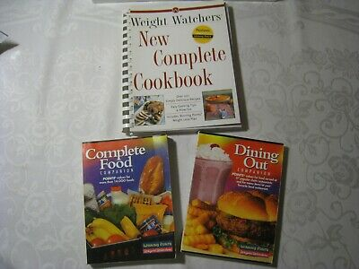 Weight Watchers 2000 Complete Food Dining Out Companion Winning Points Cookbook