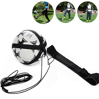 Kids Football Practice Aid Self-Training Kick Trainer Aid Equipment Waist Belt