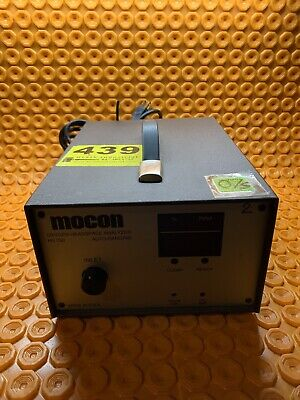Mocon HS750 Oxygen Headspace Analyzer 001-344 / Auto-Ranging (L14)