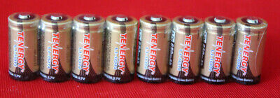 8x  Arlo Certified Rechargeable Batteries RCR123A