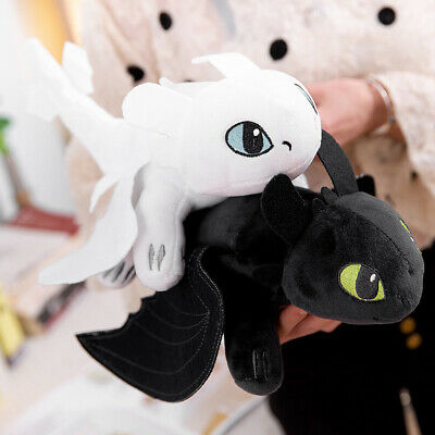 How to Train Your Dragon Fury Plush Doll Toothless Gift Stuffed Animal Kids Toy