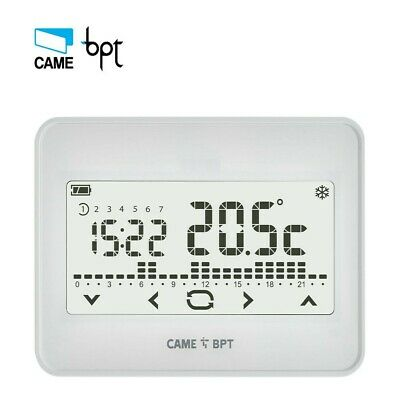 Thermostat Programmable Bpt TH550 WH Wifi Touchsreen Mural Mur Sovraimposto 220V