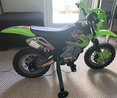 Kids Electric Motorbike Children 6V Battery Power Scooter Ride On Motorcycle