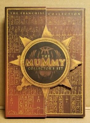 The Mummy's Collector's Set, The Franchise  Collection, 3-Disc Dvd