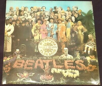 Beatles, Sgt. Pepper's Lonely Hearts Club Band, Parlophone Lp Pmc 7027 Mono Nm