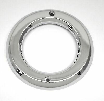"GG Light Bezel Grommet Cover for 2 1/2"" Round Lights Chrome Plastic #80719 Each"