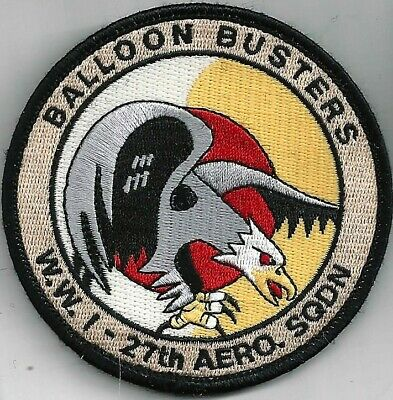 COLOR 4 USAF 27th FIGHTER SQ PATCH   DEPLOYMENT TO JAPAN