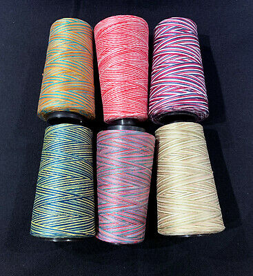 Package of 6 quilting 100%cotton thread cones 2160 yards each - size 35wt