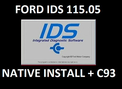 FORD IDS 115.05 + C93 Calibration files✅DIAGNOSTIC SOFTWARE✅ INSTANT DELIVERY