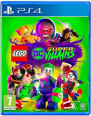 LEGO DC Super Villains PS4 ** New & Sealed Official UK Sony PlayStation Game **