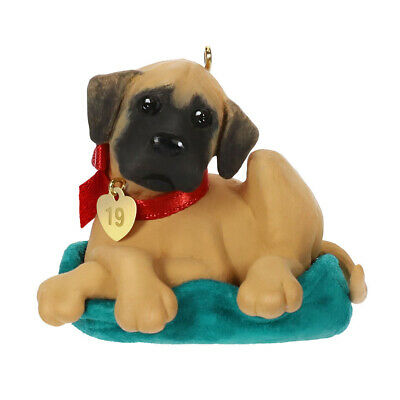 2019 Hallmark Keepsake Ornament - Puppy Love Great Dane QXR9019