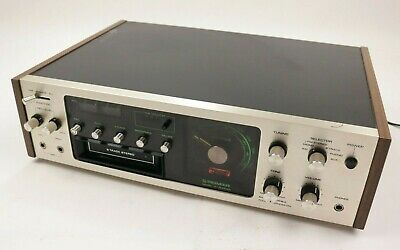 Vintage Pioneer H-R9000 Radio Stereo 8 Track Tape Deck Player Recorder AM FM