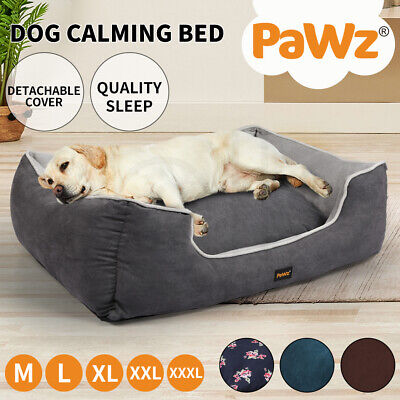 PawZ Deluxe Pet Dog Cat Bed Soft Warm Puppy Beds Cushion Mattress Pad Mat 5 Size