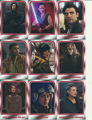 2019 Topps Star Wars Journey To Rise Of Skywalker Choose Your Destiny 10 Cards