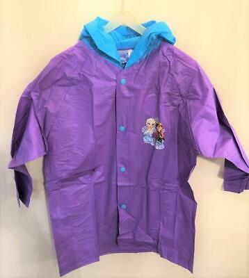 New Disney Frozen Lightweight Raincoat -  Official - 2 Colours Age 4 7 10 Yrs