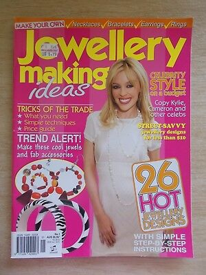 Jewellery Making Ideas #1~26 Projects~Beading~66pp Magazine