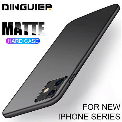 Ultra Thin Simple Phone Case For iPhone 11 Pro Max XS XR 7 8+ Plus Hard PC Cover