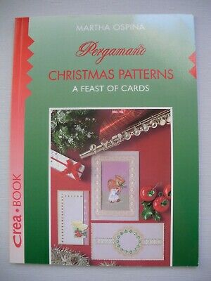 Pergamano Christmas Patterns - Martha Ospina - Parchment Craft Pattern Book