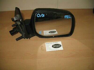 Range Rover P38 6 pin Wing Mirror Drivers/Offside/Black plastic