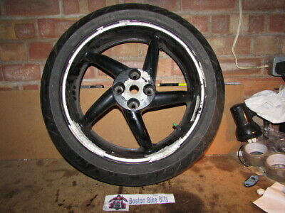 Honda VFR750F RC36B 1997 Rear Wheel & Nearly New Metzeler Tyre Stock No BBB 1176