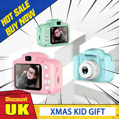 Mini Digital Camera Camcorder Video 1080P For Children Kids XMAS Gift UK