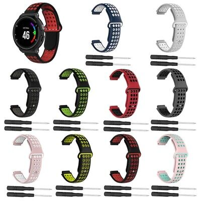 Replacement Strap Bracelet For Garmin Forerunner 235/735XT/230/630 Approach S20